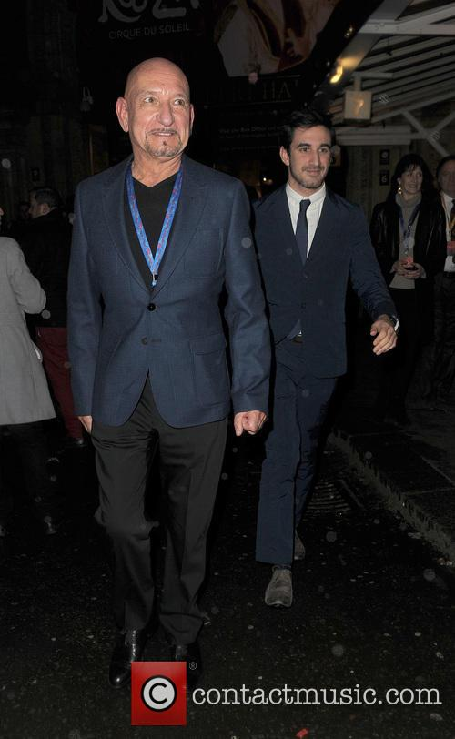 Sir Ben Kingsley and Royal Albert Hall 4