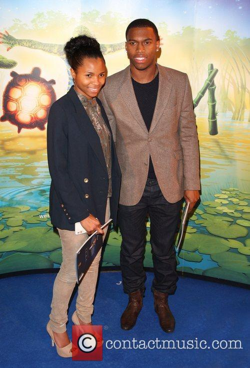 Daniel Sturridge and girlfriend 'Cirque du Soleil: TOTEM'...