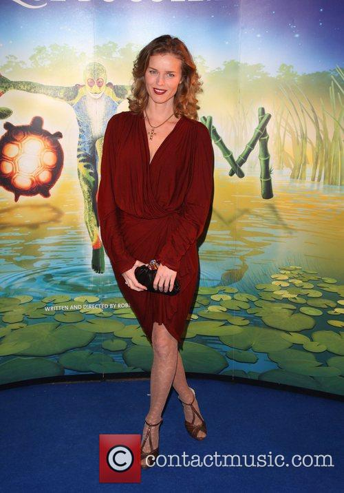Eva Herzigova Cirque du Soleil Totem premiere -...