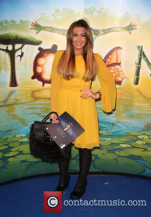 Lauren Goodger Cirque du Soleil Totem premiere -...