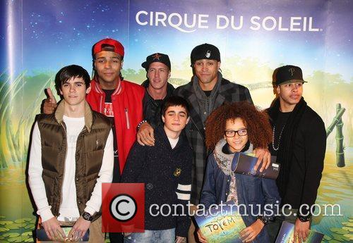 Diversity 'Cirque du Soleil: TOTEM' premiere at the...