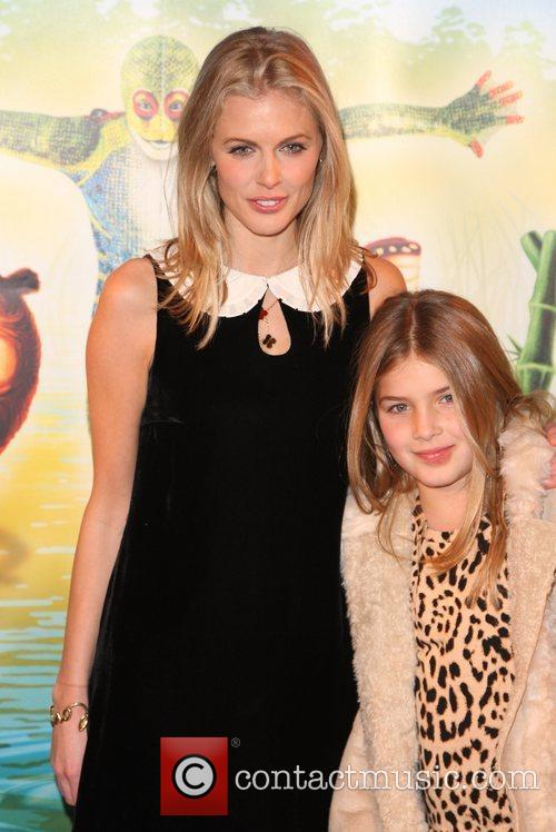 Donna Air and daughter Freya Aspinal 'Cirque du...