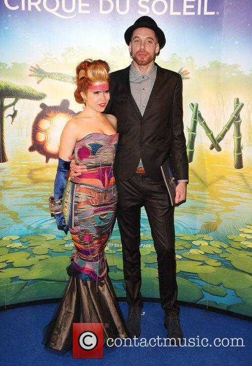 Paloma Faith and designer Alex Noble 'Cirque du...