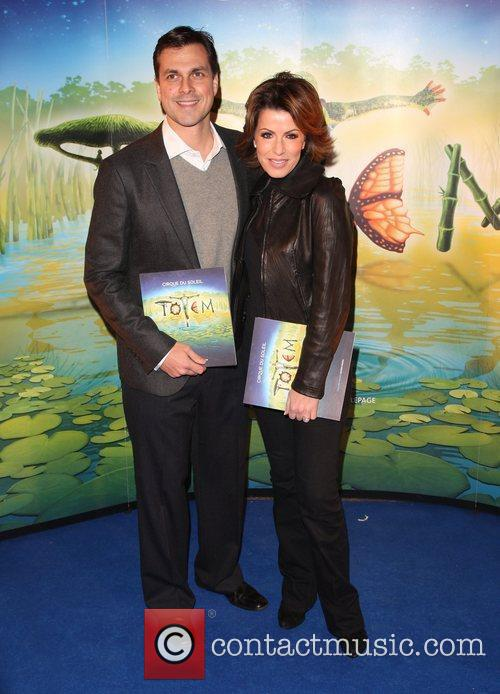 Natasha Kaplinsky and husband Justin Bower 'Cirque du...