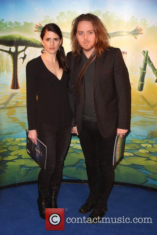 Tim Minchin with his wife Sarah 'Cirque du...