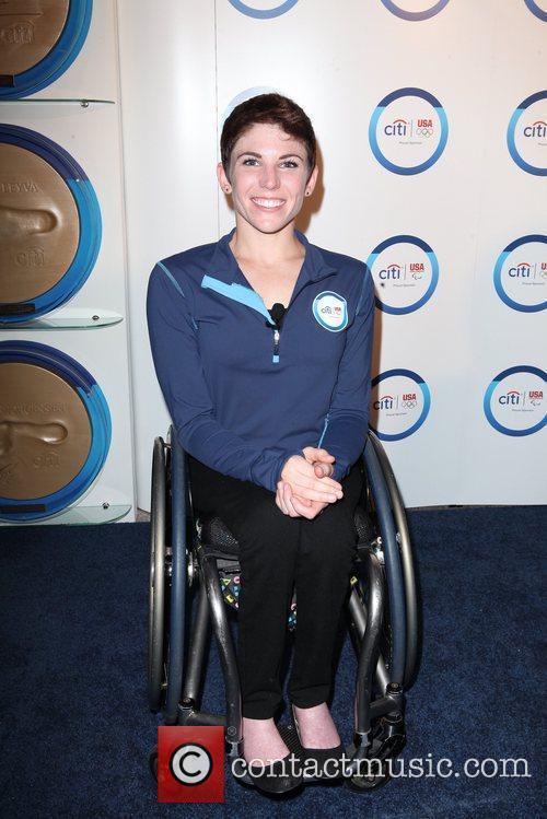 Female Wheelchair Division Marathon Winner Amanda McGrory Citi...