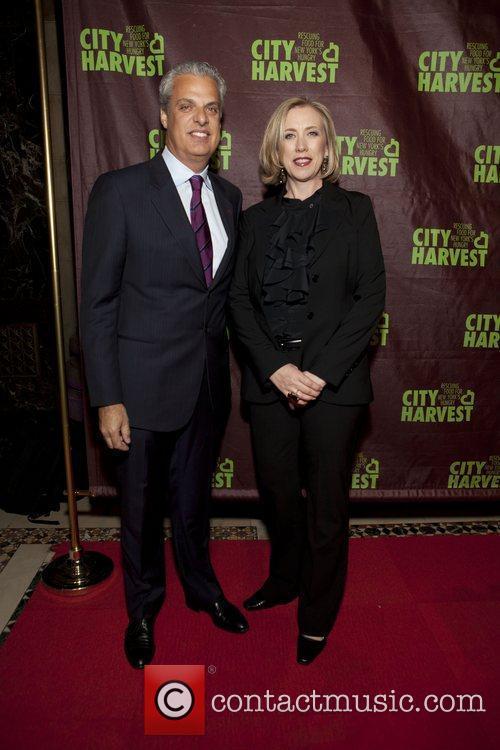 Chef Eric Ripert and Jilly Stevens (City Harvest...