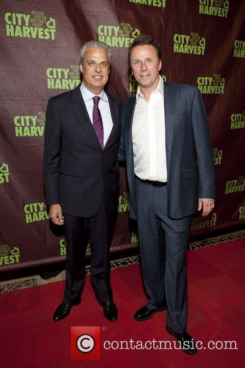 Chef Eric Ripert and Marc Murphy City Harvest...