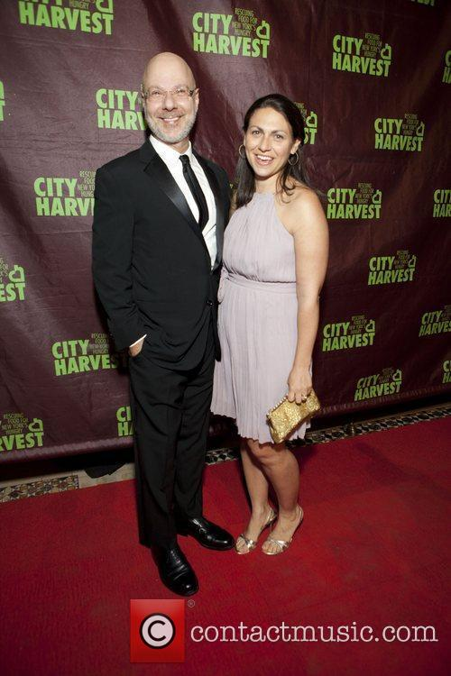 Chef Ron Ben Israel and wife City Harvest...