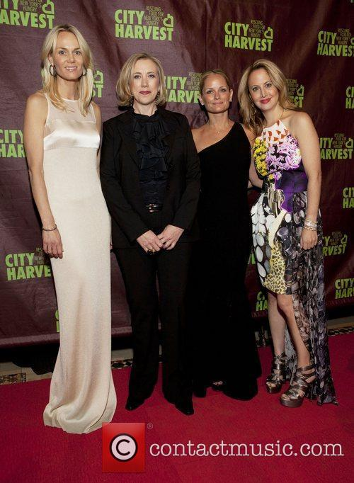 Lise Evans, Jilli Stephens, Heather Mnuchin and Nina...