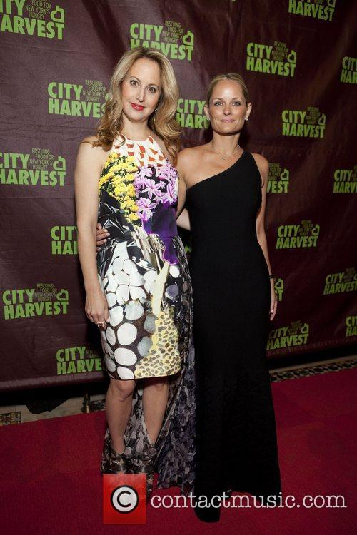 Nina Rennert Davidson and Heather Mnuchin City Harvest...
