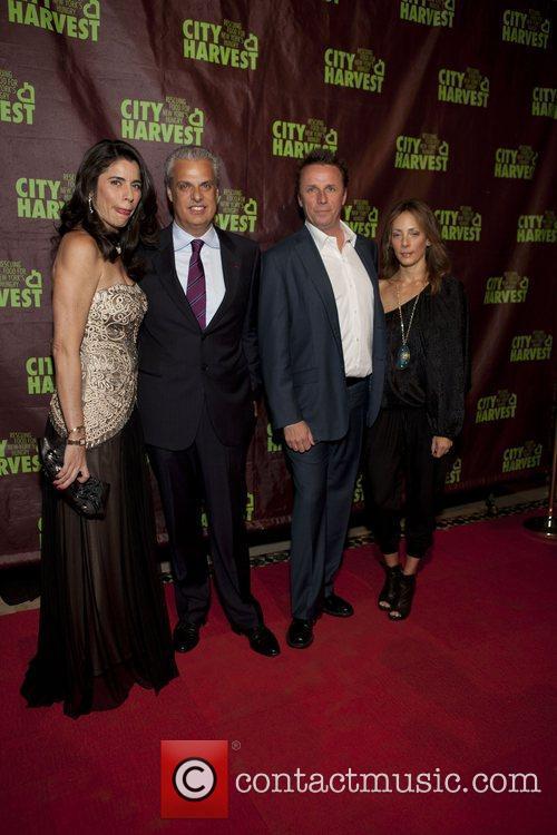 Sandra and Erik Ripert and Mark and Pam...
