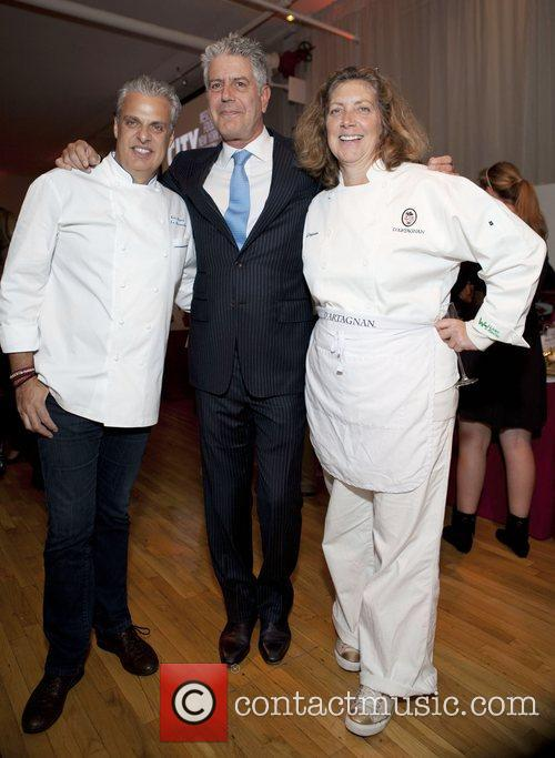 Chef Eric Ripert, Anthony Bourdain, Chef Daquin City...