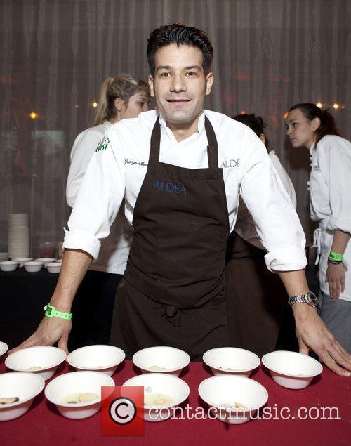 Chef George Mendez City Harvest's 18th Annual Bid...