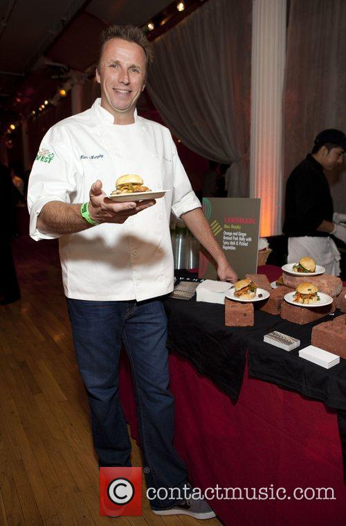Chef Marc Murphy City Harvest's 18th Annual Bid...