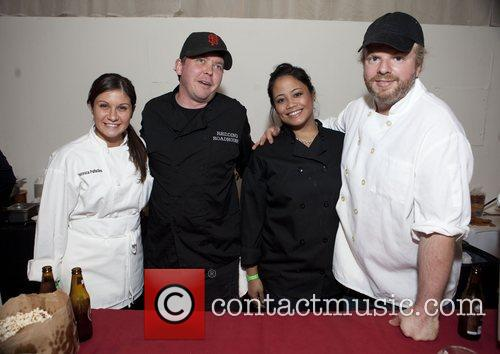 Chef staff of The Darby City Harvest's 18th...