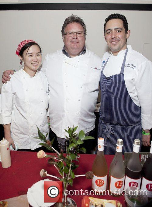 Chef Vivian Wu, Chef David Burke, Chef Jason...