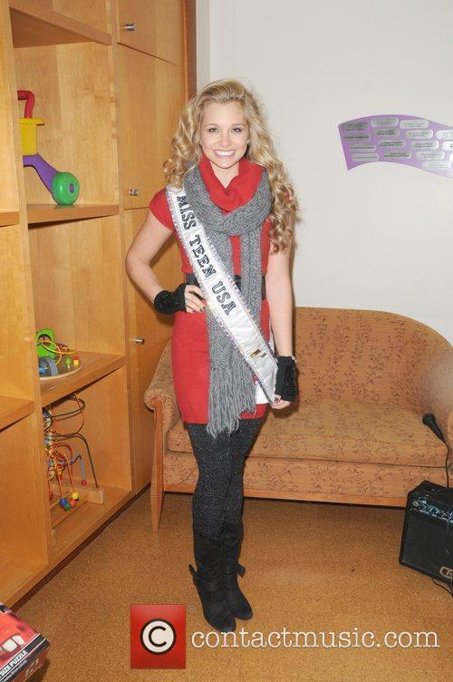 Miss Teen USA Danielle Doty City Sights NY...