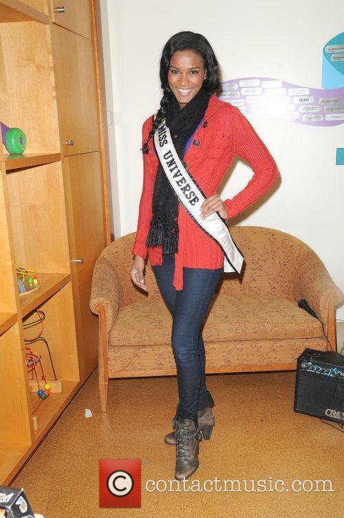 Miss Universe Leila Lopes City Sights NY Second...