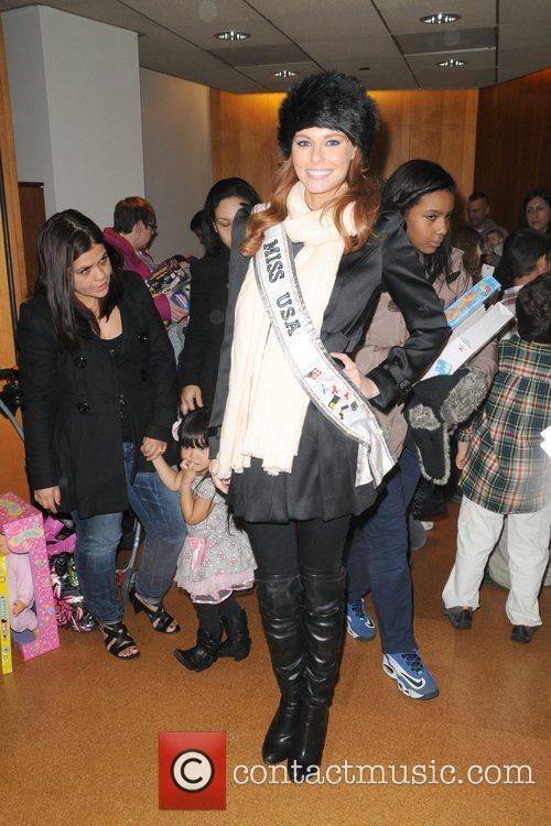 Miss USA Alyssa Campanella City Sights NY Second...