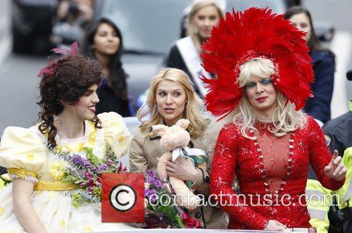 Clair Danes attends a parade in her honor...