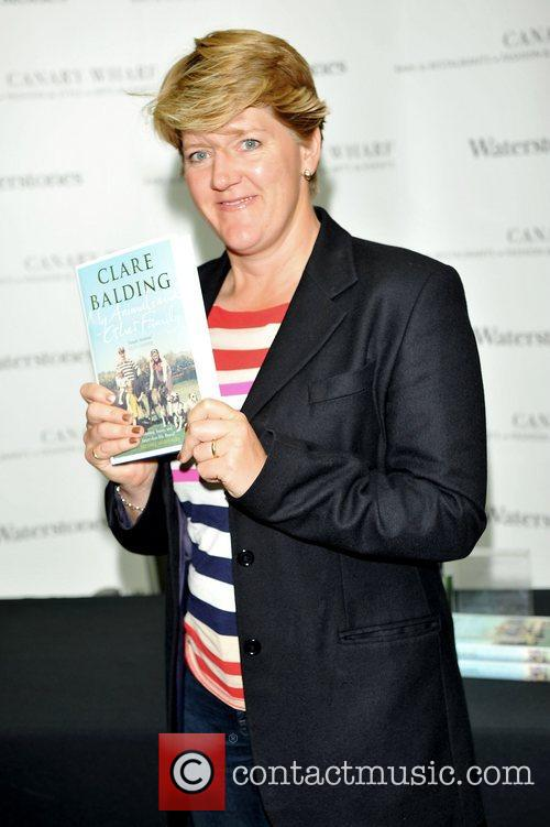 clare balding promotes and signs copies of 4086654