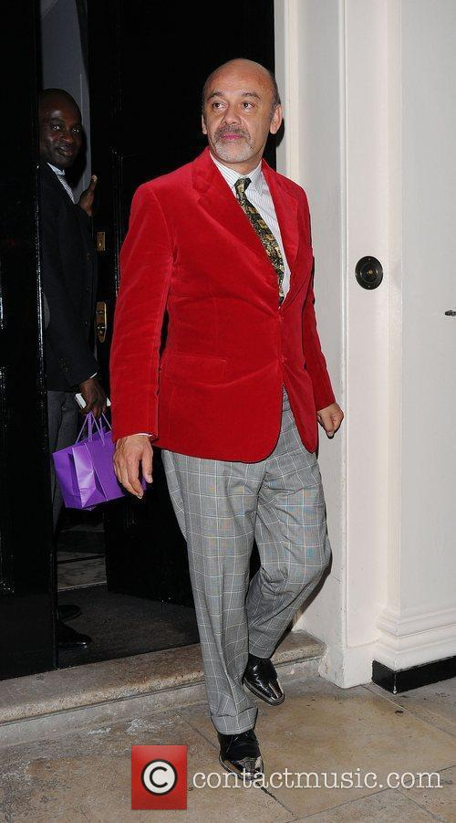 Christian Louboutin leaving The Arts Club