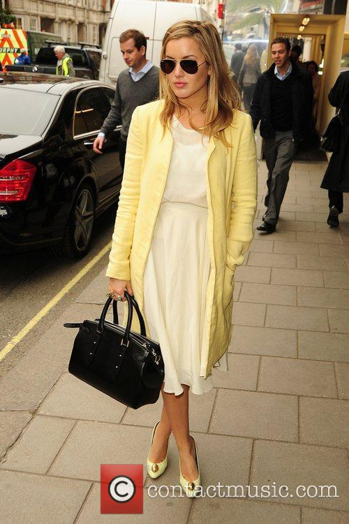Caggie Dunlop  Celebrities at Claridges hotel London,...