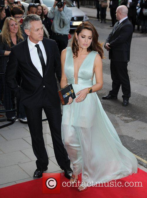 Gary Lineker and wife Danielle Lineker arriving at...