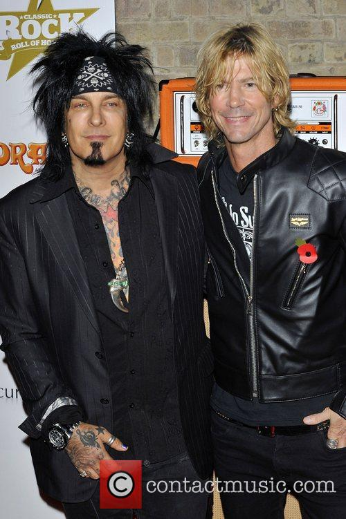 Nikki Sixx, Duff Mckagan and The Roundhouse 2