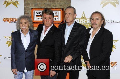 Alan Lancaster, Rick Parfitt, Francis Rossi and John...