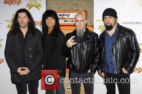 Frank Bello, Scott Ian, Joey Belladonna, Charlie Benante, Anthrax and The Roundhouse
