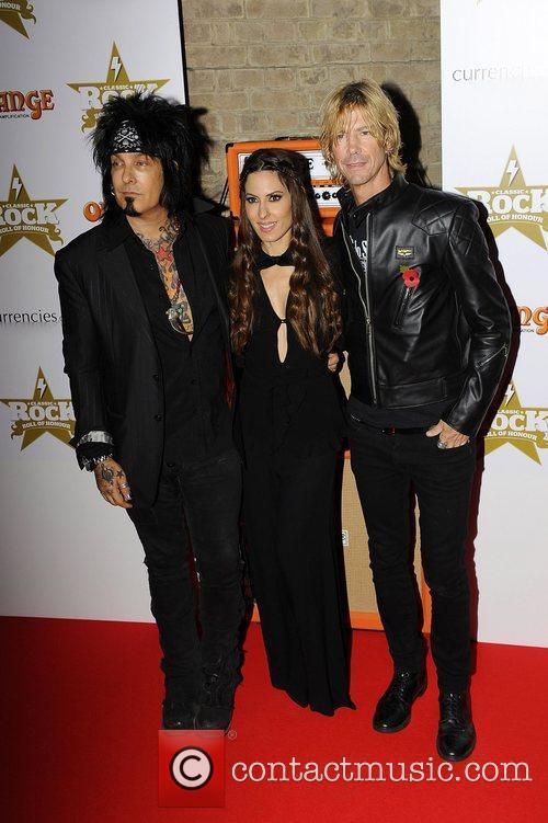 Nikki Sixx, Duff Mckagan and The Roundhouse 4
