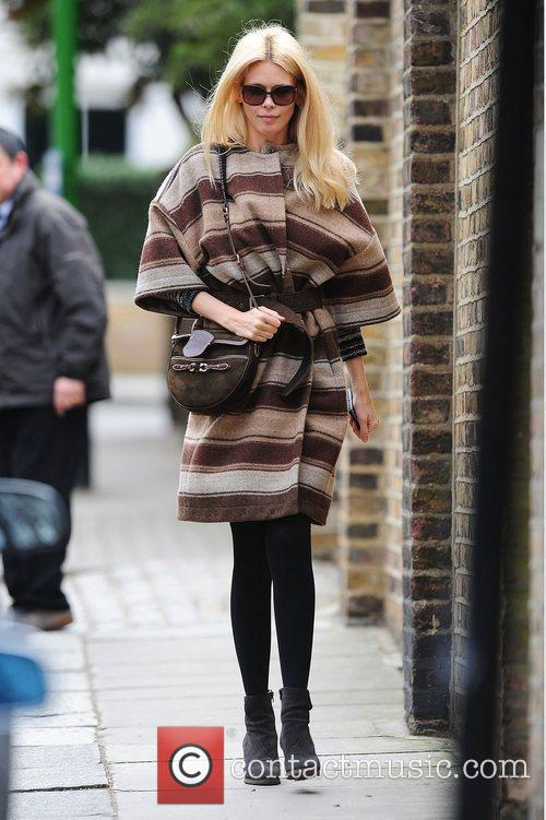 claudia schiffer out and about in west 3743004