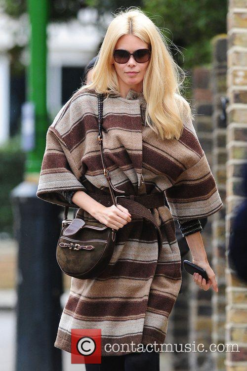 claudia schiffer out and about in west 3743005