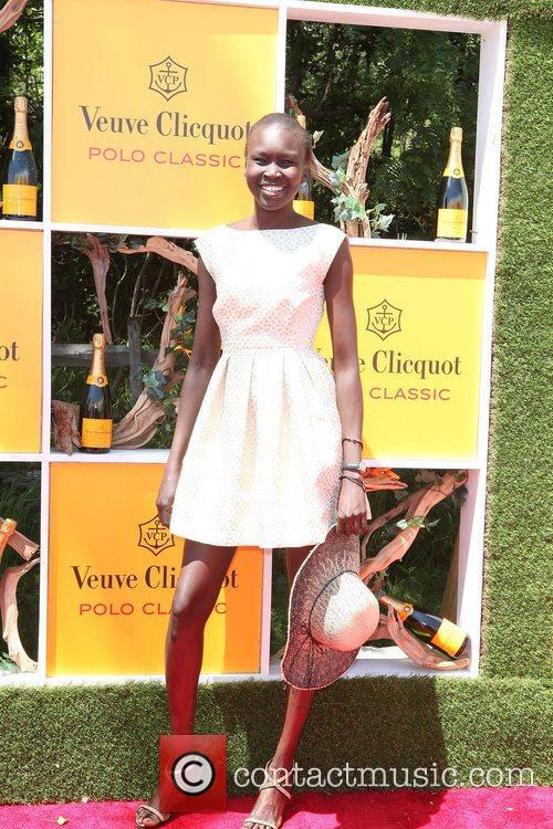 Alek Wek,  The Fifth Annual Veuve Clicquot...
