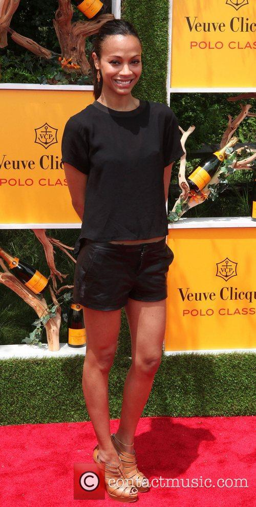 zoe saldana the fifth annual veuve clicquot 3922773