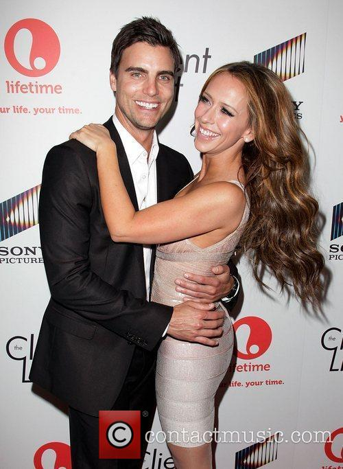 Colin Egglesfield and Jennifer Love Hewitt Launch party...