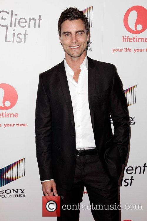 Colin Egglesfield Launch party for Lifetime's new series...