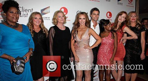 Loretta Devine, Colin Egglesfield, Cybill Shepherd, Jennifer Love Hewitt, Kathleen York and Naturi Naughton 2