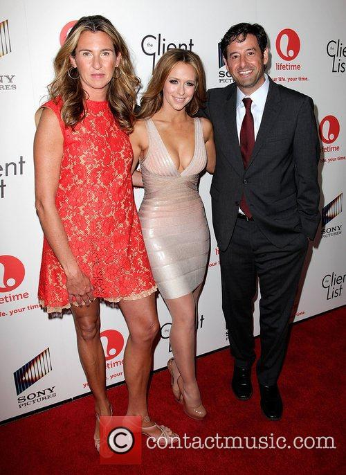Nancy Dubuc, Jennifer Love Hewitt, and Rob Sharenow...