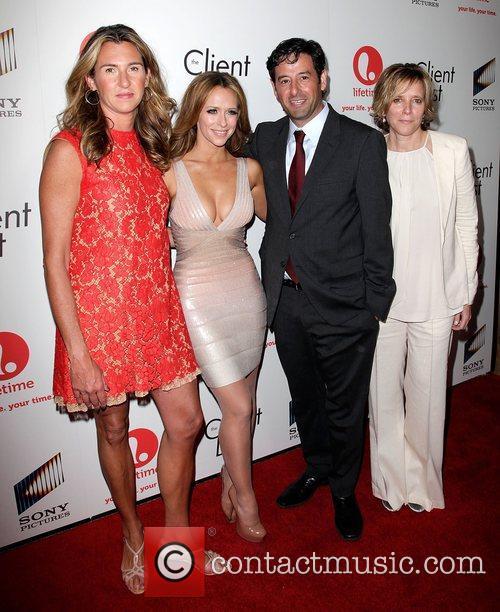 Nancy Dubuc, Jennifer Love Hewitt, Rob Sharenow, and...