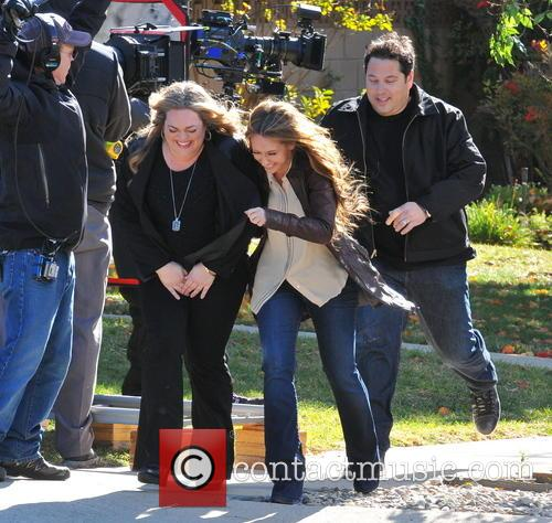 Jennifer Love Hewitt, Greg Grunberg and Rebecca Field 7