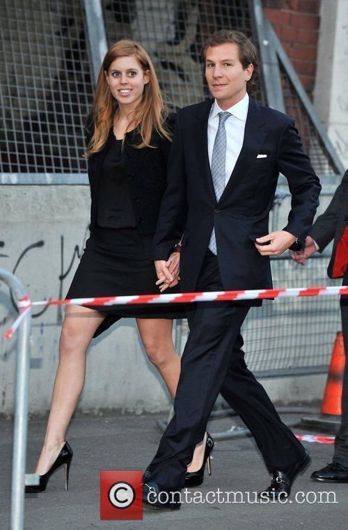 Princess Beatrice and Dave Clarke 2