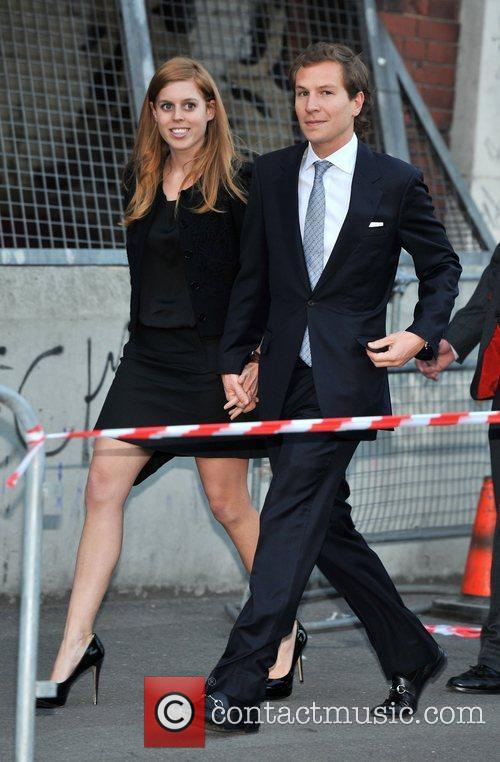 Princess Beatrice and Dave Clarke 5