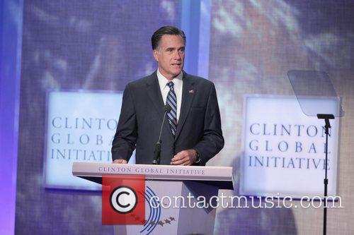 Mitt Romney Global Initiative Annual Meeting held at...