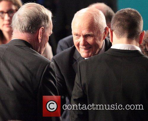John Glenn at the Global Initiative Annual Meeting...