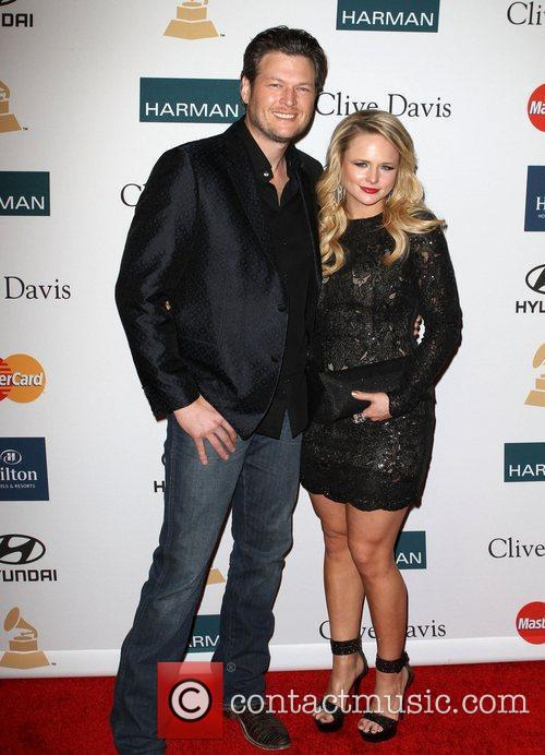 Blake Shelton, Miranda Lambert and Beverly Hilton Hotel