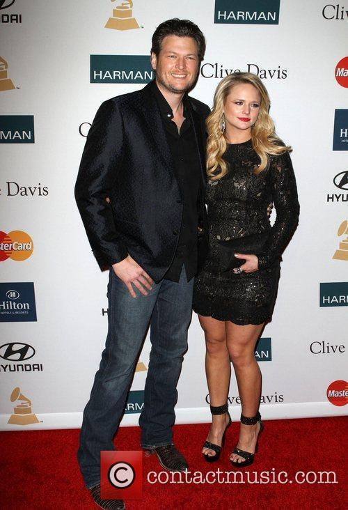 Blake Shelton, Miranda Lambert and Beverly Hilton Hotel 1