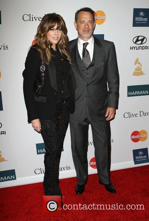 Rita Wilson, Tom Hanks and Beverly Hilton Hotel 2